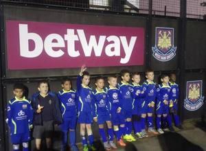 U8s at West Ham